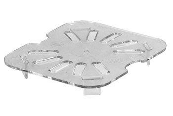Cambro 60CWD135 1/6 Size Clear Drain Tray, 6 (Cambro Tray)
