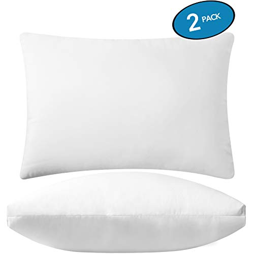 "Premium Adjustable Loft Bed Pillow (Set of 2) - Hypoallergenic Fluffy Pillow - Quality Plush Pillow - Down Alternative Pillow - Standard Pillow for Head Support - 20""x26"""