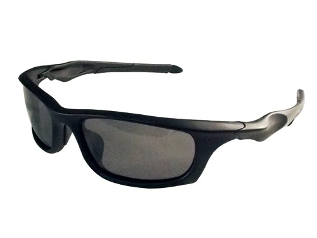 [해외] TNK공업 스피드 피트 썬글라스 SABER C1 매드 블랙/스모크 편광 SA-C1