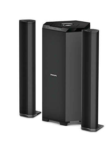 504fdb617 Philips MMS8085B 94 2.1 Channel Convertible Multimedia Speaker System  Price  Buy Philips MMS8085B 94 2.1 Channel Convertible Multimedia Speaker  System ...