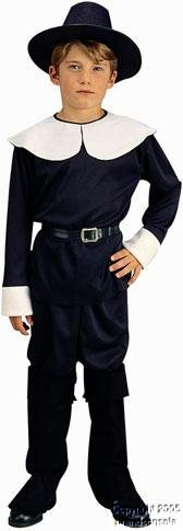 Pilgrim Boy Costume,