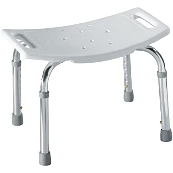 Moen DN7025 Adjustable Tub and Shower Seat, White