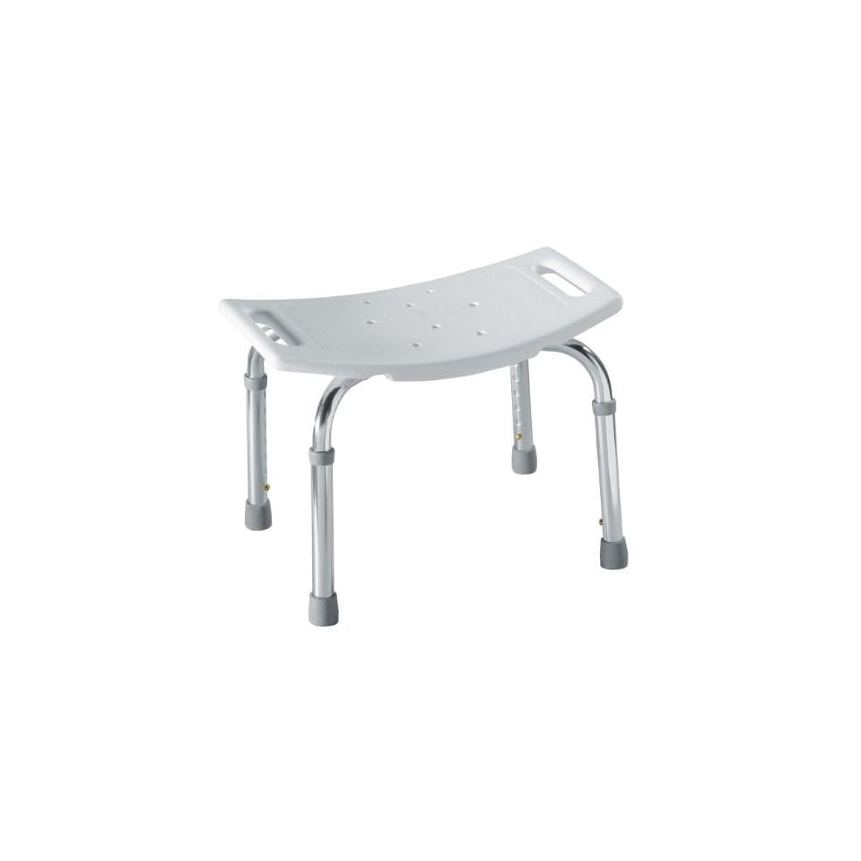 Heavy Duty Shower Bench Bath Chair by Medline   Size Bariatric 550 LB