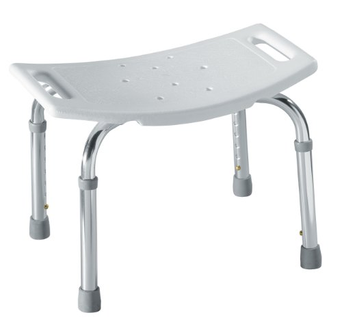 - Moen DN7025 Adjustable Tub and Shower Seat, White