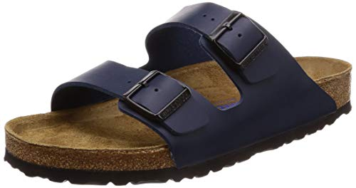 Birkenstock Unisex Arizona Navy Birko-flor¿ Sandals - 10-10.5 D(M) US Men
