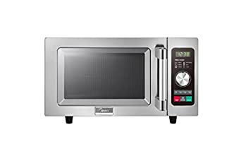 Midea 1025F2A Light Duty Commercial Microwave 1000W with Dial Touch Controls