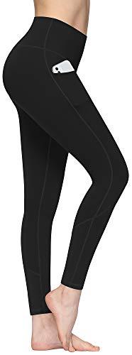 Yoga Leggings for Women High Waist Yoga Pants with Pocket Non See Through Tummy Control Sport Pants XL