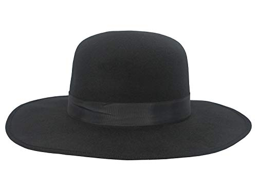 Deluxe Western/Amish Black Hat -