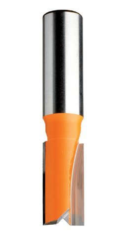 Mortise Cut Router Bit (CMT 811.754.11 Straight Bit, 1/2-Inch Shank, 1-Inch Diameter, Carbide- Tipped)