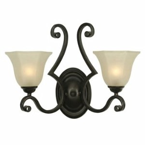 Dolan Designs 779-34 Winston 2 Arm Sconce Olde World - 2 Light Olde World Sconce