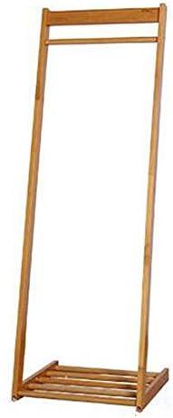 XIAOLIN ソリッドウッドコートラックフロアベッドルームハンガー現代ミニマルリビングルームフロアハンガークリエイティブ衣類棚 ( 色 : ウッド うっど )