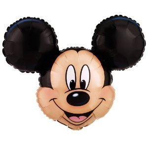 Mickey Mouse Extra Large 27 inches by 21 inches Mylar Balloon ()