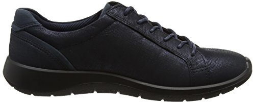 Ecco Soft 5, Sneakers Basses Femme Bleu (Marine/navy)