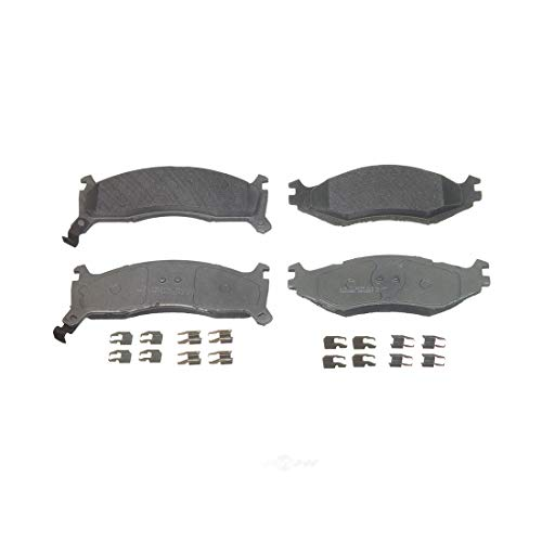 AutoDN FRONT Semi-metal Disc Brake Pad Set For CHRYSLER LEBARON DYNASTY IMPERIAL