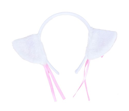 Nyan Cat Costume (Pretty Cosplay Cat Costume Ears Headband for Teens, Pink)