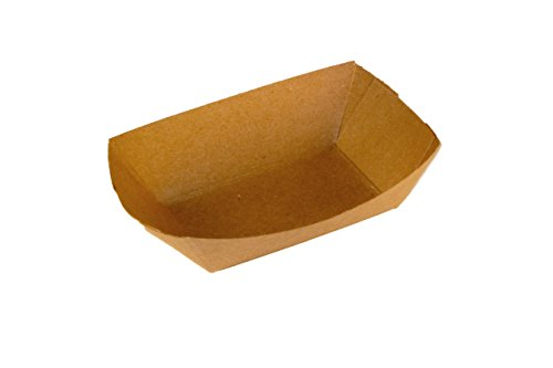 Specialty Quality Packaging 7125 Food Tray, #25, Kraft Plain (Pack of 1000)