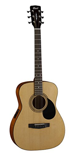 Cort 6 String Acoustic-Electric Guitar, Right Handed (AF510E OP) (Acoustic Cort Electric)