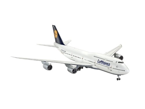 Revell Germany Boeing 747-8 Lufthansa Model Kit (8 Scale Model Kit)