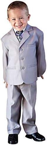 ボーイズスーツシングルブレストノッチラペルタキシードジャケット&ズボンフォーマルウェディングセット