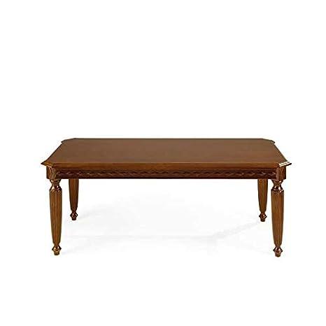 Tavolini Da Salotto Classici In Legno.Tavolino Classico Da Salotto In Legno Gamba Tornita