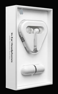 Apple High Quality In-Ear Headset / Headphones with Remote and Mic (As on Apple Website)