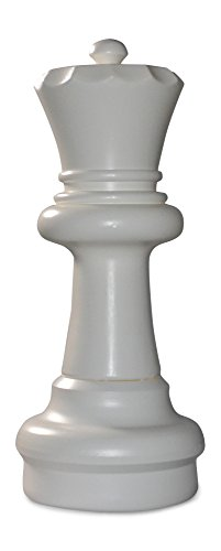 MegaChess Individual Chess Piece - Queen - 23 Inches Tall - White by MegaChess