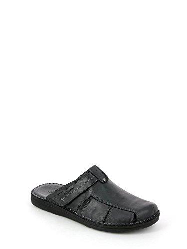 Grunland CI2130 Sandals Man Nero P7oIh