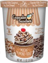 In the Mix Cupcake Sundaes Mocha Almond Fudge Cupcake Kit 11 Ounce