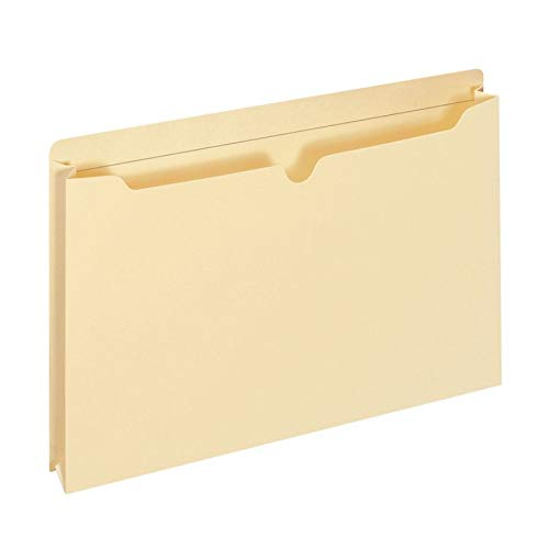 (Office Depot Manila Double-Top File Jackets, 2in. Expansion, Letter Size, Pack of 25, 458161OD)