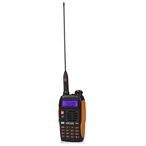 5 Pack Baofeng Pofung GT-3TP Mark-III Tri-Power 8/4/1W Two-Way Radio Transceiver, Dual Band 136-174/400-520 MHz True 8W High Power Two-Way Radio, with 23CM High Gain Antenna, Upgraded Chip + 1 Programming Cable Included by BAOFENG (Image #4)