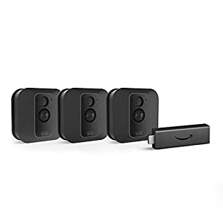 Fire TV Stick with Blink XT2 Outdoor/Indoor Smart Security Camera - 3 camera kit