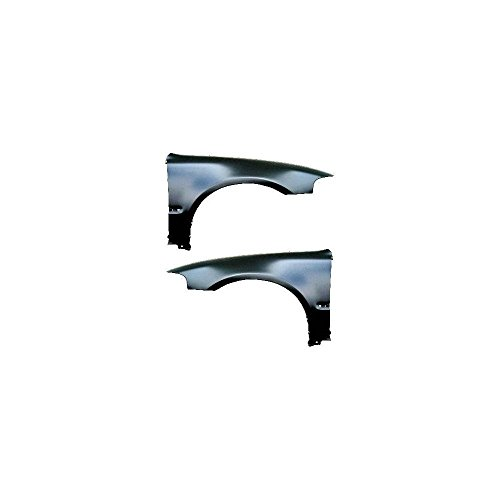 92 93 94 95 Coupe (Evan-Fischer EVA16972055139 Fender for Honda Civic 92-95 RH and LH W/ Molding Holes Coupe/Hatchback Front Left and Right Side)