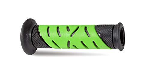 Pro Grip RVGS Gel Grip Model 719 - Closed End - Black/Green , Color: Green 719BKGN (Best Gel Grips Motorcycle)