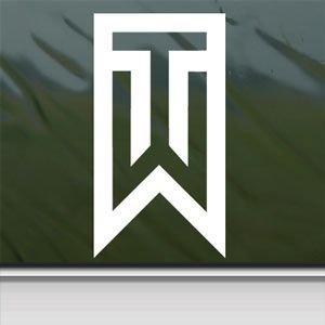 Amazon Com Socool Tiger Woods Symbol Vinyl 4 Quot Tall