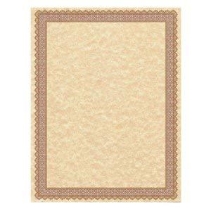 - Southworth Parchment Certificates, Vintage, Copper, 50 Certifcates/Pack (2 Pack)