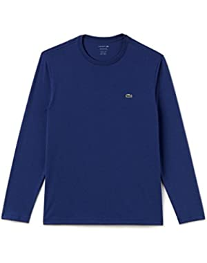 Mens Lacoste L/S tee | TH5276 | CCA Grey | 031 Black | 166 Navy