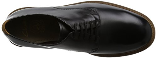 Clarks Feren Lace black leather Men's Business shoes