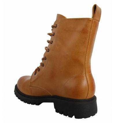 Damen MTNG CAMEL Boots PU 51361 für wq5YEBf