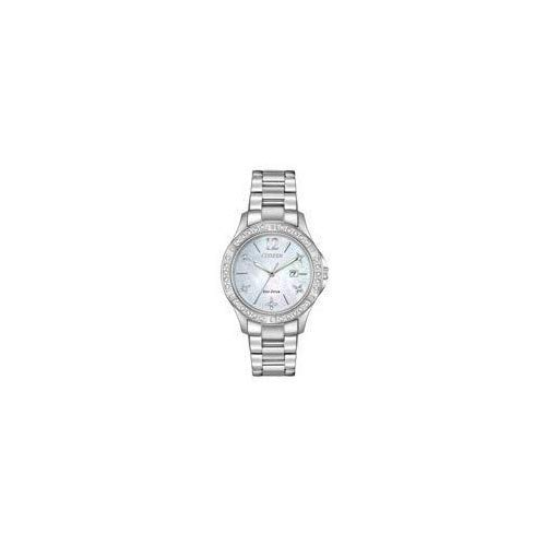 Citizen Women's Eco-Drive Japanese-Quartz Watch with Stainless-Steel Strap, Silver (Model: EW2510-50D) (Watch Eco Drive)