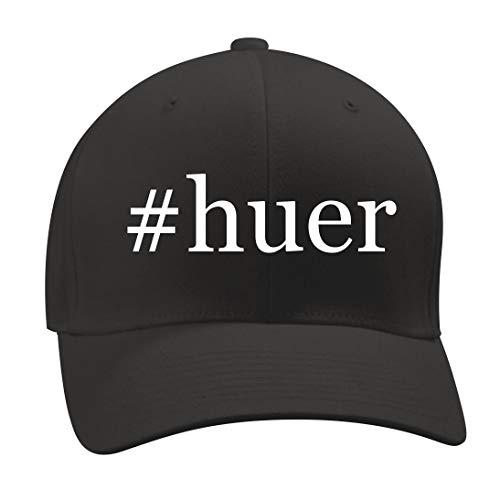#Huer - A Nice Hashtag Men's Adult Baseball Hat Cap, Black, Large/X-Large by Shirt Me Up