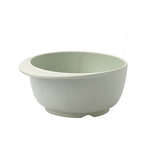 Bamboo Fragrant Duck Tongue Children's Bowl Nordic Green Daily Supplies Nordic Green