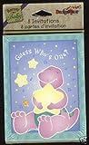 Designware Barney 1st Birthday Invitations w/ Envelopes (8ct)