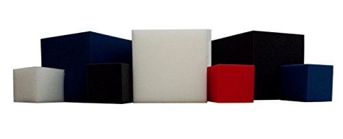 "Foam Pits Blocks/Cubes 20 pcs. (RED) 5""x5""x5"" (1536) Pit Foam Blocks/Cubes For Skateboard Parks, Gymnastics Companies, and Trampoline Arenas"