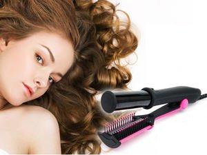 2014 Hot Saler inStyle Hair straight Multi Tool 3 In 1 Curling Tongs ...