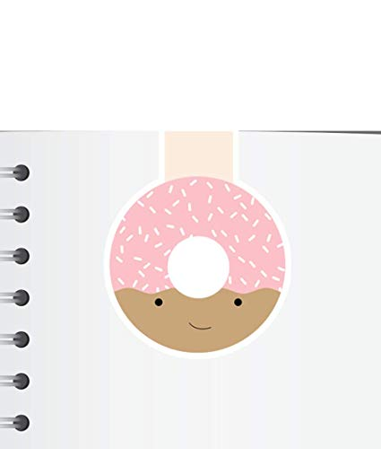 Donut Magnetic Bookmark