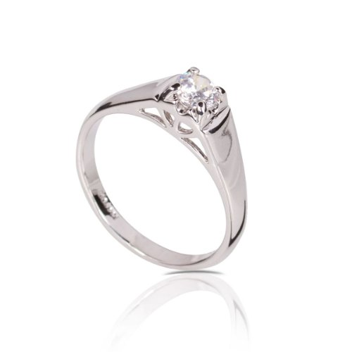 Fashion Plaza Women's Gift Mother's Day Engagement Ring with Cubic Zirconia R331 (9)