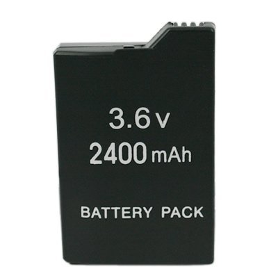 HDE Rechargeable Li-ion 3.6V Battery Pack Replacement for sony PSP-2000, PSP-3000