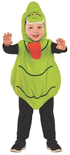 Rubie's Baby's Classic Ghostbusters EZ-On Slimer Romper Costume, Green, Toddler 3T-4T]()