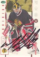 Original Autographed 6 Card - Michael Leighton Chicago Blackhawks 2003 In The Game Original 6 Autographed Card. This item comes with a certificate of authenticity from Autograph-Sports. Autographed