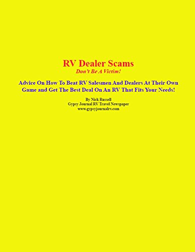 (RV Dealer Scams: Don't Be A Victim!)
